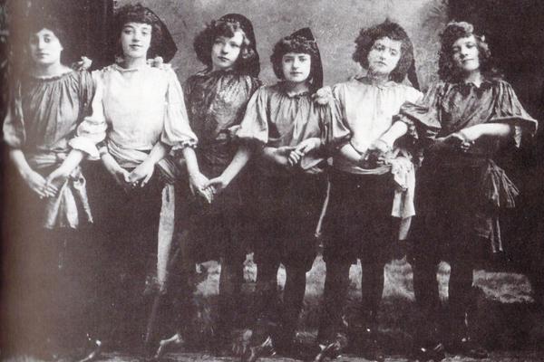 1891 The John Tiller Girls Manchester